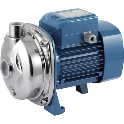 Pedrollo Centrifugal Stainless Steel Water Pump — 2853 GPH, 1 HP, 230 Volts, Model# AL- RED 135m