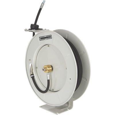 Roughneck Grease Hose Reel — 1/4in. x 50ft. Hose