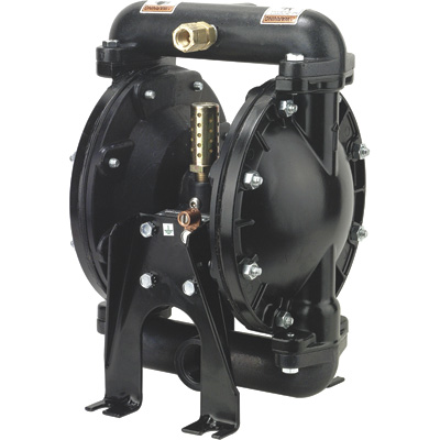 FREE SHIPPING — ARO Air-Operated Double Diaphragm Fuel Transfer Pump — 1in. Ports, 29 GPM, Aluminum/Acetal/Viton, Model# 650717-C