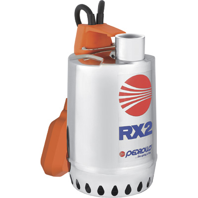 Pedrollo Submersible Stainless Steel Utility Pump — 3,480 GPH, 1/2 HP, 1 1/4in. Port, Single Phase, Model# RXm2