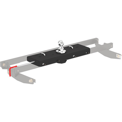 FREE SHIPPING — CURT Double Lock Gooseneck Hitch — 30,000-Lb. Capacity, Fits Chevrolet, GMC, Dodge, Ram, Ford and Toyota, Model# 60607