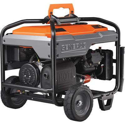 FREE SHIPPING — Generac Portable Generator — 8125 Surge Watts, 6500 Rated Watts, Model# 6823