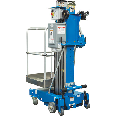 Genie AWP 36 AC Super Series Aerial Work Platform — 350-Lb. Load Capacity, 36ft.6in. Lift Height, Model# AWP 36 AC