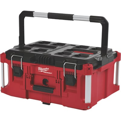 Milwaukee Packout Large Toolbox — 22.1in.L x 6.6in.W x 16.1in.H, Model# 48-22-8425