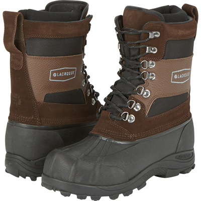 Lacrosse Men's 11in. Outpost II Pac Boots - Brown, Size 8, Model# 60080