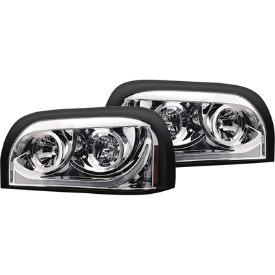 Trux Accessories 27in. x 15in. Freightliner Century Driver's Side Halogen Projector Semi-Truck Headlight — Model# TLED-H13