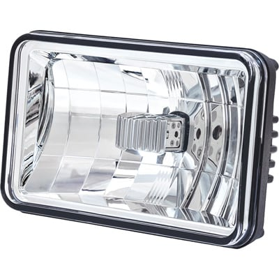 Trux Accessories 6in. x 4in. Low Beam LED Standard Headlight  — White, Model# TLED-H2