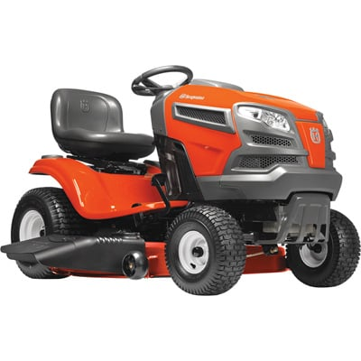 Husqvarna Riding Lawn Mower — 724cc Briggs & Stratton Intek V-Twin Engine, 54in. Deck, Model# YTH24V54