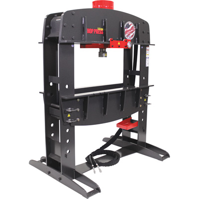 FREE SHIPPING — Edwards 110-Ton Shop Press with Porta Power — Single-Phase, 230 Volt, Model# HAT9010