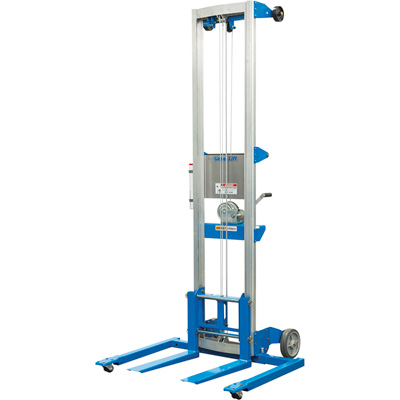 Genie Material Manual Lift with Straddle Base —10ft. Lift, 350-Lb. Capacity, Model# GL-10 STRADDLE