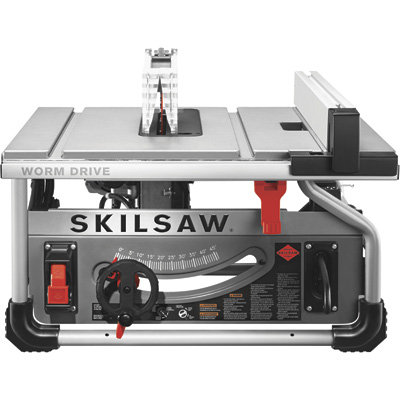 FREE SHIPPING — Skilsaw Worm Drive Table Saw —10in., 15 Amp, Model# SPT70WT-22