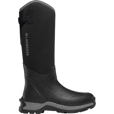 LaCrosse Alpha Thermal 16in. Boots — Black, Size 8, Model# 644SZ07