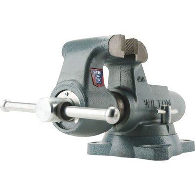 Wilton Machinist's Bench Vise — 5in. Jaw Width,Swivel Base, Model# 500S