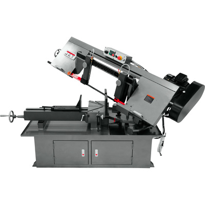 FREE SHIPPING — JET Dual Miter Horizontal Band Saw — 10in., 2 HP, 230 Volt, Model# MBS-1018-3