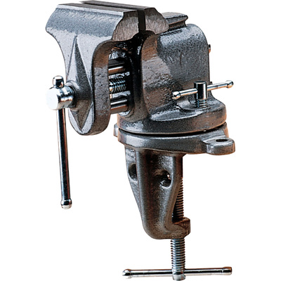 WIlton Clamp-On Bench Vise with Swivel Base — 3in. Jaw Width, Model# 153