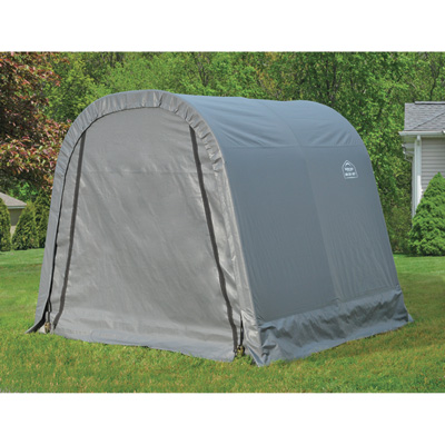 ShelterLogic Ultra Shed — Round Style, 8Ft.L x 8Ft.W x 8Ft.H, Model# 76803