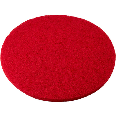 Performance Plus 20in. Round Polishing Pads — 5-Pack, Red, Model# PRED20