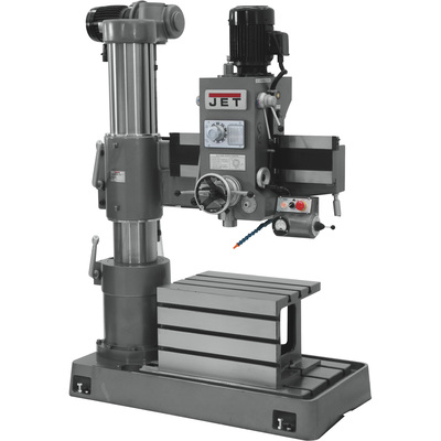 FREE SHIPPING — JET Radial Arm Drill Press — 6-Speed, 36in., 3 HP, 230/460 Volt, Model# J-720R