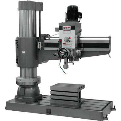 FREE SHIPPING — JET Radial Arm Drill Press — 12-Speed, 60in., 7.5 HP, 460 Volt, Model# J-1600R-4
