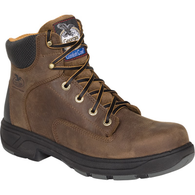 Georgia Men's FLXpoint Waterproof Composite Toe Boots - Brown, Size 12 Wide, Model# G6644