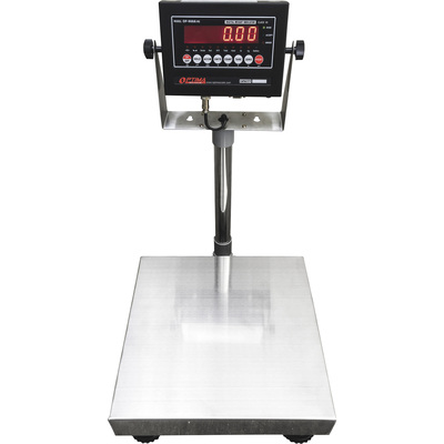Optima Scale 12in. x 12in. Bench Scale — 100-Lb. Capacity, 0.02-Lb. Display Increments, Model# OP-915-1212-100