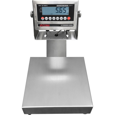 Optima Scale 14in. x 12in. Stainless Steel Bench Scale — 150-Lb. Capacity, 0.02-Lb. Display Increments, Model# OP-915SSW-1214-150
