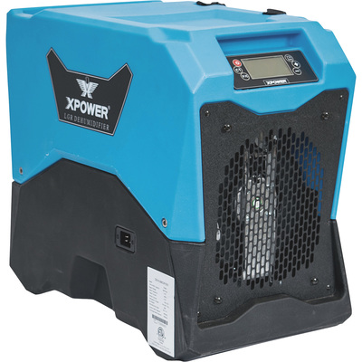 XPower LGR Commercial Dehumidifier — 85 Pints/Day, Model# XD-85L
