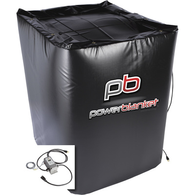 Powerblanket 330-Gallon Insulated Tote Heater — Includes Adjustable Thermostatic Controller, 1440 Watts, 120 Volt, Model# TH330