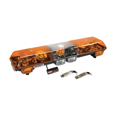 Wolo Infinity 1 48in. Halogen Light Bar – Amber Lens, Model# 7000-A
