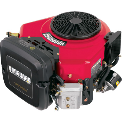 Briggs & Stratton Vanguard V-Twin Vertical Engine with Electric Start — 570cc, 1in. x 3 5/32in. Shaft, Model# 356777-3034-G1