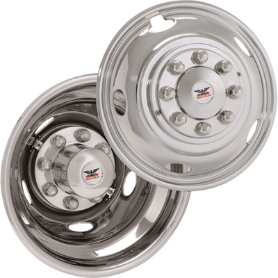 Phoenix USA Stainless Steel Wheel Liners — 2003-Current Dodge 3500 Trucks, 17In. Wheels, Model# SLD1703
