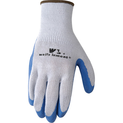Wells Lamont Men's Latex-Coated Knit Gloves - 3 Pairs, XL, Model# 133