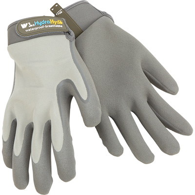 HydraHyde Men's Waterproof Breathable Gloves - Gray, Size Large
