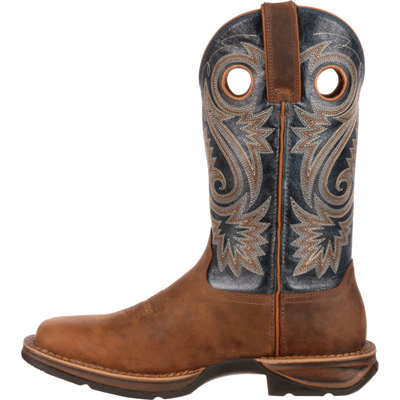 Durango Men's Rebel 12in. Saddle Western Boots - Brown/Navy, Size 11 Wide, Model# DDB0075