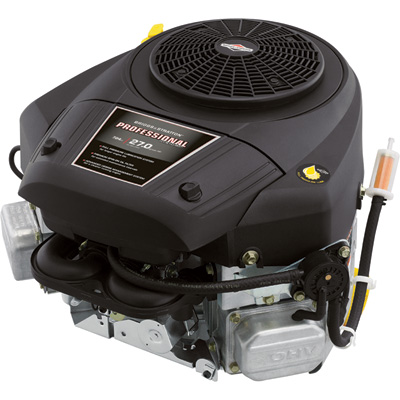 Briggs & Stratton Extended Life Professional Series V-Twin Engine with Electric Start - 27 HP, 1in. x 3 5/32in. Shaft, Model# 44Q777-3137-G5