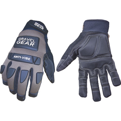FREE SHIPPING - Gravel Gear Men's Anti-Vibration Performance Gloves - XL