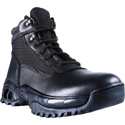 Ridge Men's Side-Zip Duty Boot - Black, Size 14, Model# 8003