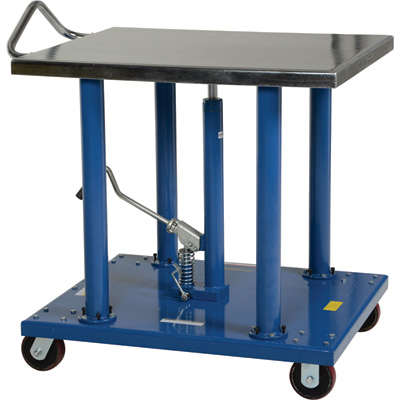 Vestil Manual Hydraulic Post Table