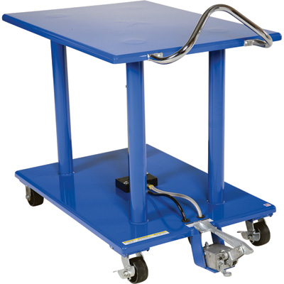 Vestil Manual Hydraulic Post Table — 2,000-Lb. Capacity, Model# HT-20-3042