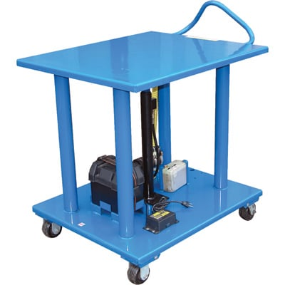 Vestil DC Power Hydraulic Post Table
