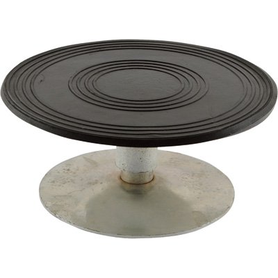 Vestil Heavy-Duty Manual Turntable — 500-Lb. Capacity, 8in. Dia., 3 15/16in.H, Model# TT-8-4