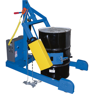 Vestil Portable Drum Carrier/Rotator/Boom — 800-Lb. Capacity, 59 11/16in. Lift, Model# HDC-305-60-DC