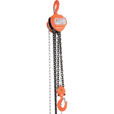 Vestil Hand Chain Hoist — 2-Ton Lift Capacity, Model#  HCH-4-15