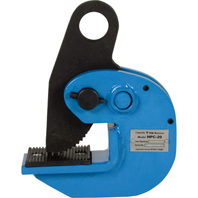 """Vestil Horizontal Plate Clamp - 2,000-Lb. Capacity, 400-Lb. Minimum Uniform Plate Weight, Model# HPC-20"""