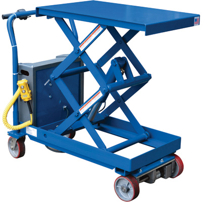 Vestil Traction Drive Electric Hydraulic Elevating Cart
