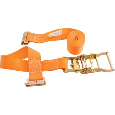 Vestil Cargo Strapping — Ratchet Tightening, 12ft. Working Length, 1,000-Lb. Working Load, Model# STRAP-12-RE