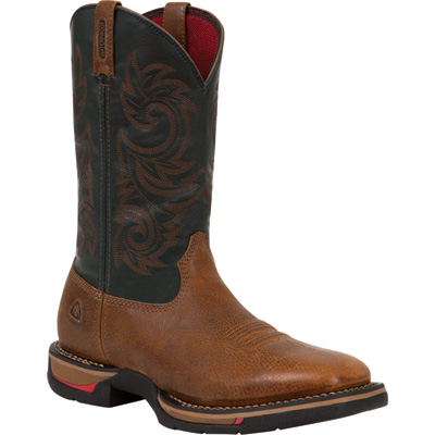 Rocky Men's 12in. Long Range Waterproof Western Boot - Brown, Size 11 Wide, Model# 8656