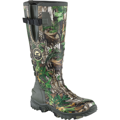 Irish Setter by Red Wing Men's Rutmaster 17in. Waterproof Rubber Knee Boots — Realtree Xtra Green Camouflage, Size 8