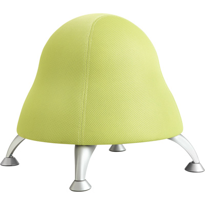 Safco Runtz Poly Ball Chair — Sour Apple, Model# 4755BL