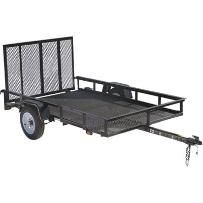 Carry-On Trailer Mesh Floor Trailers
